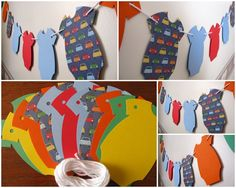 Intro Special Baby ONESIE Banner - 11 ONESIE Shapes It's A Boy - Baby Shower, Newborn, Welcome Baby, Photo Prop - Ready to Ship. $ 18.00, via Etsy.