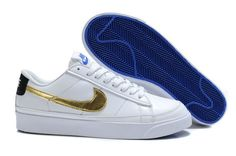 Nike Blazer Low Men's Shoes White Gold,Fashionable and quality sports shoes here just for you.