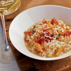 Butternut Squash Risotto with Crispy Pancetta | Food & Wine