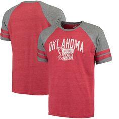 Oklahoma Sooners True Classic Tri-Blend T-Shirt - Crimson - $29.99