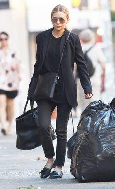 Ashley Olsen Style, Olsen Twins Style, Simple Outfits, Chic Outfits, Fashion Outfits, Black Outfits, Image Fashion, Mary Kate Olsen, Fashion Gallery