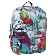 addd72482e Star Wars 16 Sequinced Kids Backpack Rainbow   Read more at the image link.  Rainbow