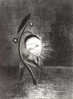 odilon+de+redon | Imágenes propias de la fantasía del mundo no real, de los sueños ...