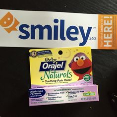 I got baby orajel naturals for free from smiley360. Gotta tell you, with my son teething his back molars we have not been sleeping very well. We tried it last night, and everybody got to sleep through the night! Big win!