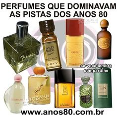 Os perfumes da época de 80 Ol Days, Do You Remember, Good Ol, Vintage Postcards, Nostalgia, Childhood Memories, Good Times, Retro Vintage, Bottle