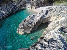 Bay of Skaloma Beget, Karaburuni Peninsula - Vlore. Albania