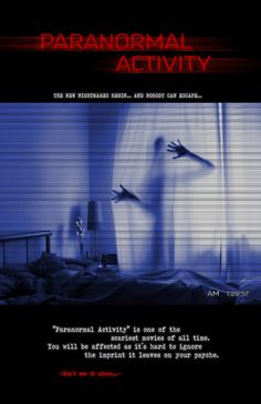 Poster de la película Paranormal Activity