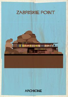 Gallery - ARCHICINE: Illustrations of Architecture in Film - 12