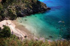 Spain, Galicia, A Coruña, Cedeira, Sonreiras Beach