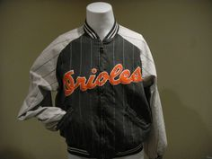 1b27ab26915 REVERSIBLE Vtg Baltimore Orioles Cooperstown Jacket MIRAGE.M World Series  1966  fashion  clothing  shoes  accessories  vintage  mensvintageclothing  (ebay ...