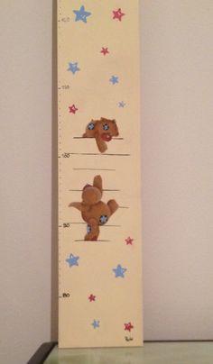 Metro per bambini, dettaglio orsetti