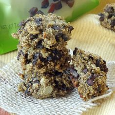 These healthy vegan and gluten free quinoa cookies are made with cacao nibs, diced dried plums and crunchy pumpkin seeds.