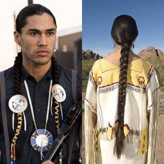 When you think of an Indian, you usually imagine them wearing their hair in braids. This hair style was often the traditional style among Native American Indians. What most people don't know is that certain tribes had their own traditions when it came to hair. http://bit.ly/10TVxPn