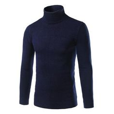 2016 Hot sale new autumn winter fashion Korean men's sweater men cultivating high-necked sweater hedging solid color shirt tide