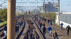 CRÓNICA FERROVIARIA: Línea Roca: La mañana fue caótica para poder viaja...