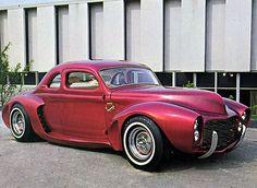 New Hot Rod Poster Barris Kustom El Matador classic car 1940 Ford Car Racer, New Sports Cars, Jaguar Xk, Ford Classic Cars, Import Cars, Car Photos, Hot Cars, Exotic Cars, Custom Cars