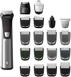 Hair Removal Philips Norelco Multigroom Series Men's Grooming Kit with Trimmer for Beard, Head, Body, and Face - No Blade Oil Needed, Men's Beard Trimmer, Ear Hair Trimmer, Hair Trimmer For Men, Best Trimmer For Men, Beard Head, Foil Shaver, Beard Trimming, Braid Styles, Online Shopping