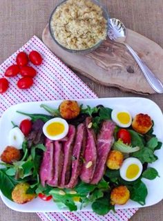 Fast, easy, and delicious dinner salad for the family!  cookingandbeer.com