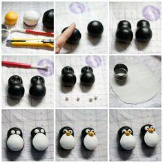 Pinguino pasta di zucchero