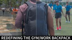ARES | The Versatile Backpack For Work & Gym Needs