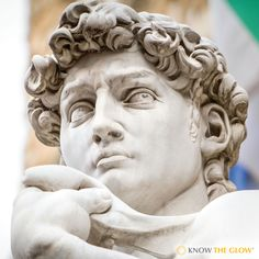 Fun Vision Fact: Did you know Michelangelo's David has heart-shaped eyes?
