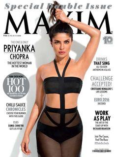 The best photos of Priyanka Chopra in Maxim Magazine on different Maxim magazine covers. See all the seen and unseen photos of Priyanka Chopra in Maxim Magazine. Actress Priyanka Chopra, Priyanka Chopra Hot, Bollywood News, Bollywood Actress, Bollywood Bikini, Bollywood Celebrities, Indian Bollywood, Indian Celebrities, Beautiful Celebrities