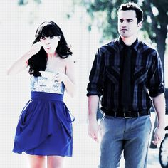 new girl nick and Jess <3