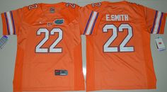 Youth Florida Gators E.Smith 22 College Football Jersey - Orange