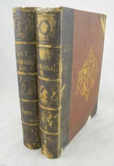 1875 & 1879 Hard Cover ART JOURNALS