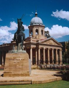 Bloemfontein, in the Free State Province, is the judicial capital of South Africa. ---- birthplace of JRR Tolkien Places Ive Been, Places To Go, Provinces Of South Africa, Free State, Church Building, Africa Travel, Beautiful Buildings, Countries Of The World, National Parks
