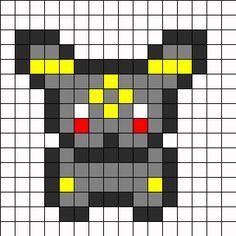 umbreon bead pattern