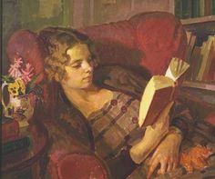 The Reader - Henry Lamb (1883-1960)