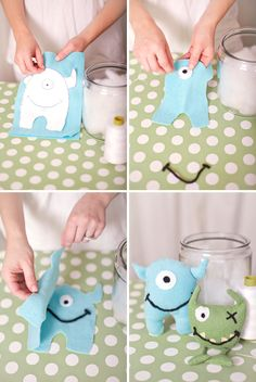 cute monster themed ideas