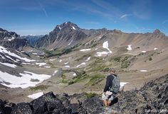 Day Hiking the Fricaba Traverse as a loop.