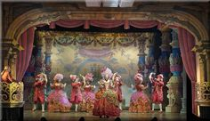 The Scarlet Pimpernel  by Frank Wildhorn and Nan Knighton- Presented at The Barter Theatre in the fall of 2005. Scenery Design is by Richard Finkelstein.