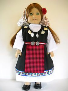 Fits-18-American-Girl-doll-Bulgaria-Bulgarian-dress-clothes-I-COSTUME-ONLY  I sell on eBay at http://stores.ebay.com/Nanis-Niche . If you don't see what you are looking for, please contact me through eBay. I have no affiliation with American Girl / Pleasant Company, or any doll manufacturer.