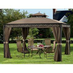 Gazebos and Canopies   outdoors southport 10 x 12 gazebo pool deck patio yard garden gazebo ...