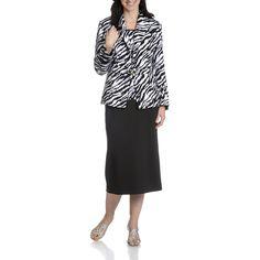 Giovanna Signature Women's 3-Piece Skirt Suit (/White-10)