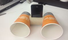Use a cardboard toilet paper tube and paper cups to make speakers for your ipod (via collegetimes)