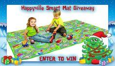 PlaSmart Happyville Smart Mat Holiday Giveaway