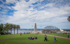 The stunning Kings Park, Perth