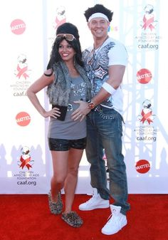 Celebrity couples at the 2010 Dream Halloween fundraiser