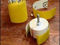 Simple sanding drum - YouTube