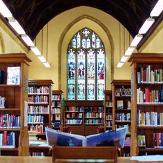 The library at Sherborne Boys School, Dorset, England. by Pat Charters on 500px