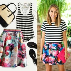 J's Everyday Fashion provides outfit ideas, budget fashion, shopping on a budget, personal style inspiration, and tips on what to wear. New Outfits, Spring Outfits, Js Everyday Fashion, Shop Front Design, Budget Fashion, Outfit Combinations, Striped Tee, What To Wear, Clothes