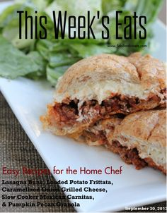 Free Weekly Meal Plan with Printable Grocery List   9/30