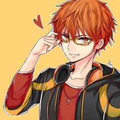 I really like Seven and his lololololols *_*... - rinrin's art stuff ლ(◉◞౪◟◉‵ლ)!?