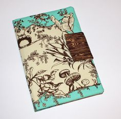 Another style of NOOK cover. Can't decide which I like better. $23