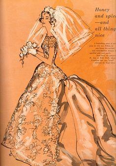 1950s   Vintage Bride