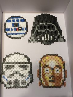 Star Wars coasters perler fuse beads by Deadly-Grape on DeviantArt